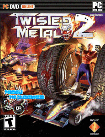twisted metal 2 portable